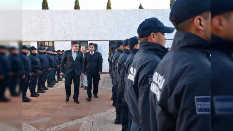 Huandacareo y municipios circunvecinos se coordinan para redoblar seguridad