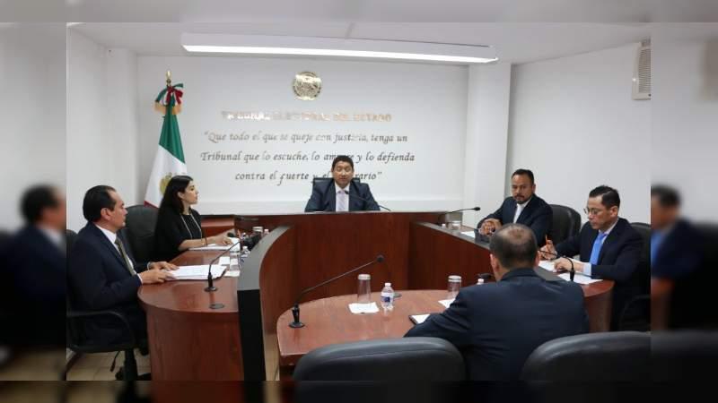 TEEMICH condena hechos violentos hacia el Tribunal Electoral de Morelos