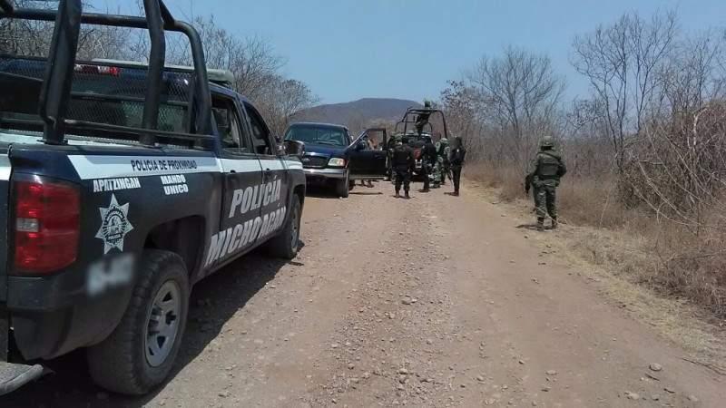 Se registran balaceras en Apatzingán y Buenavista