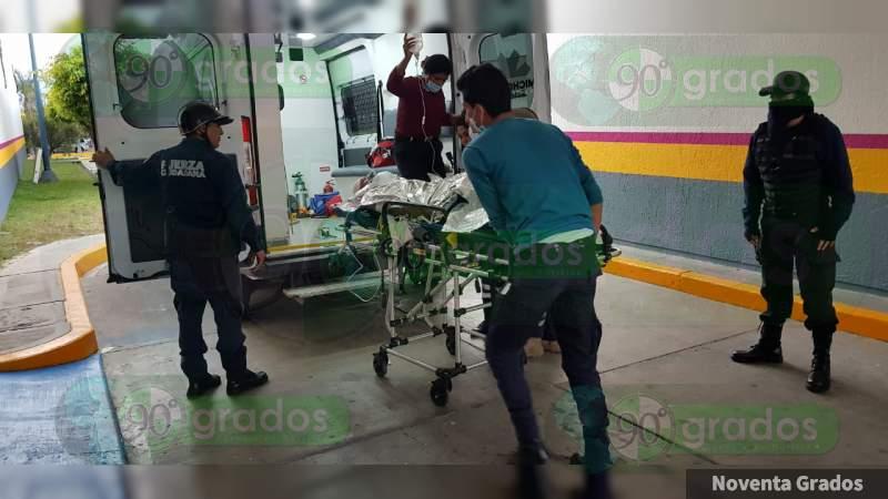 Grave un hombre tras ser baleado en Jacona