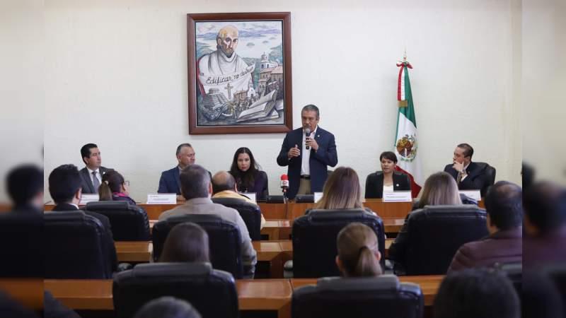 Ayuntamiento de Morelia y Coparmex firman convenio de colaboración