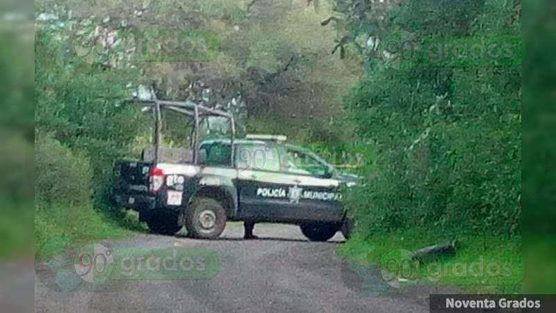 Amarrado y con narcomensaje, dejan cadáver en Juventino Rosas, Guanajuato