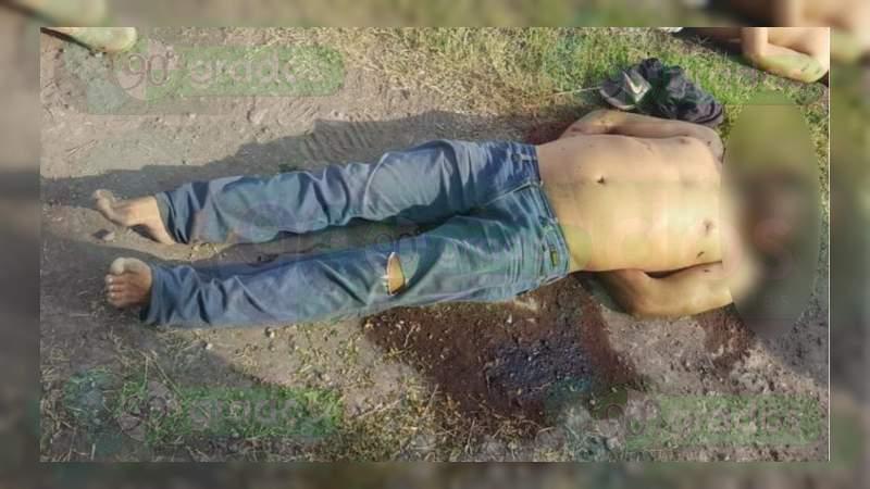 Encuentran dos cadáveres torturados y baleados en Buenavista