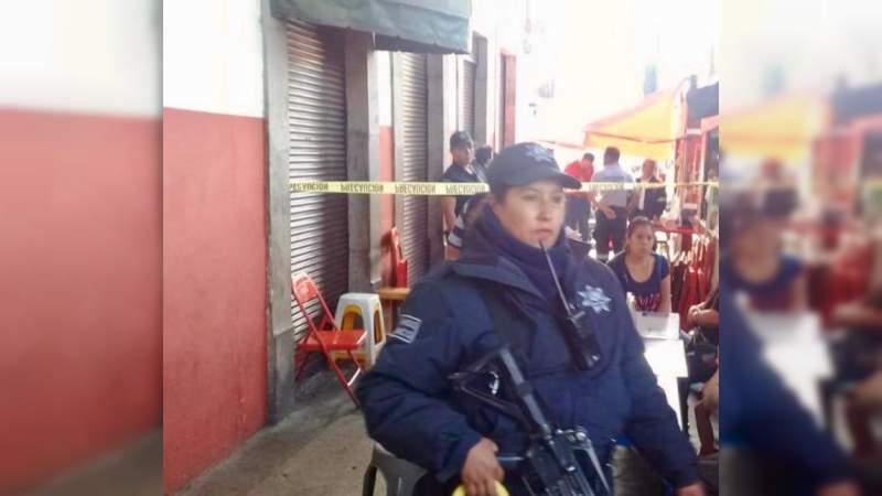 Muere septuagenario al atragantarse con comida en Quiroga, Michoacán