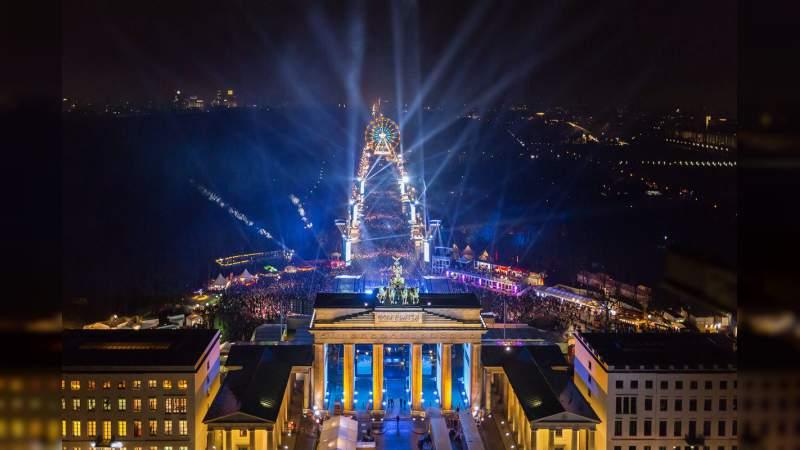 Alemania celebra en paz el año nuevo