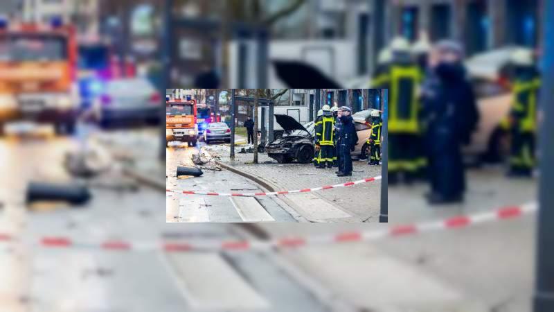 Un hombre atropella a peatones extranjeros en Alemania, hay cuatro heridos