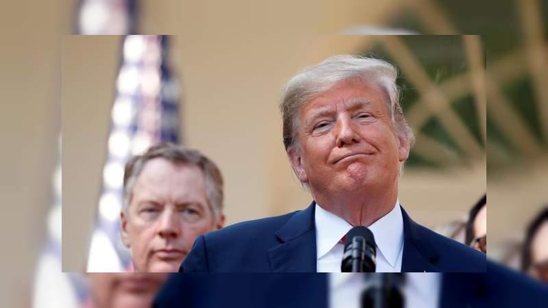 Demócratas no darán dinero a Trump para el muro
