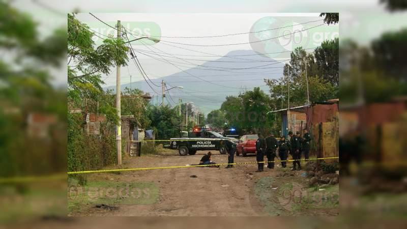 Asesinan a comerciante en Zamora