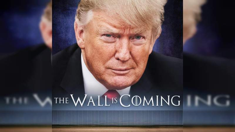 Trump utiliza a Game of Thrones para defender el muro fronterizo