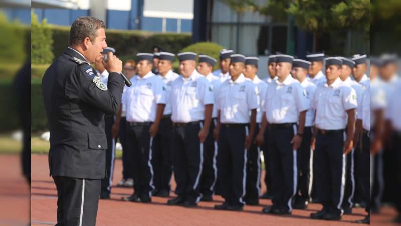 Capacita IEESSPP con Doctrina Policial de Excelencia