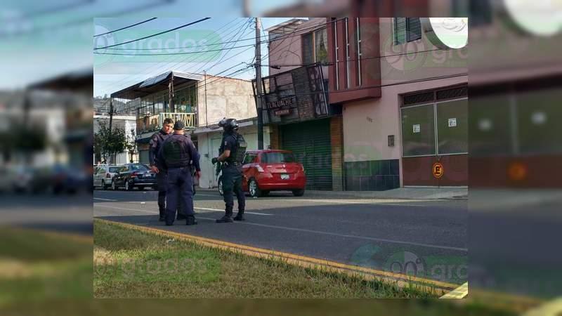 Asesinan a un conductor en Morelia