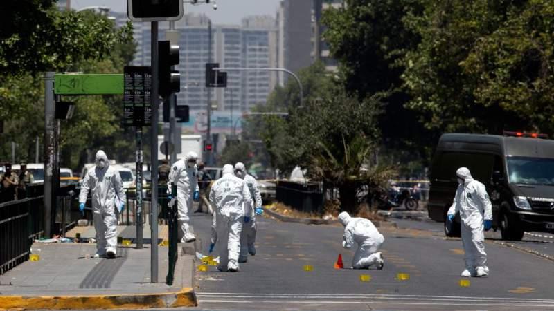 Estalla artefacto en Chile y deja 5 heridos; lo investigan como terrorismo