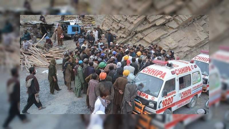 Mueren 35 personas al colapsar mina de oro en Afganistán