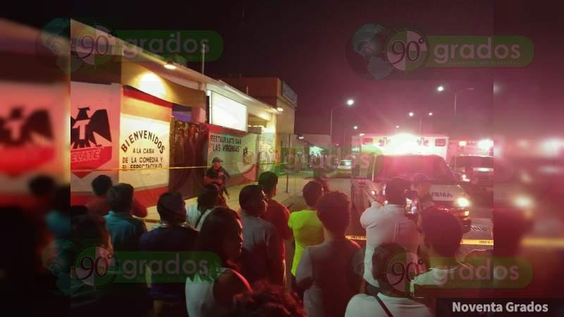 Masacre en bar de Playa del Carmen deja siete muertos