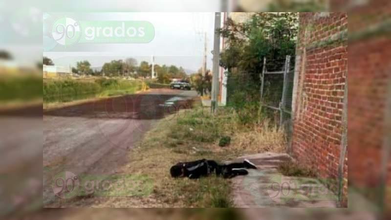 Localizan cadáver baleado de un joven, en Zamora; suman tres este lunes