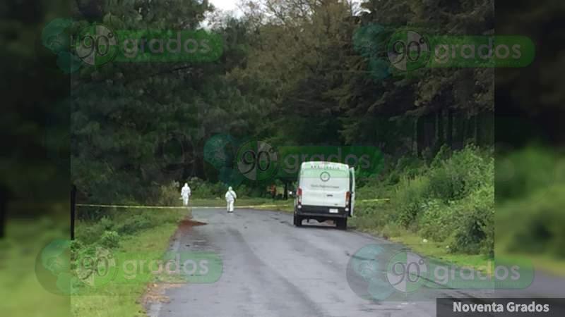 Hallan cadáver de una mujer en Copándaro, Michoacán
