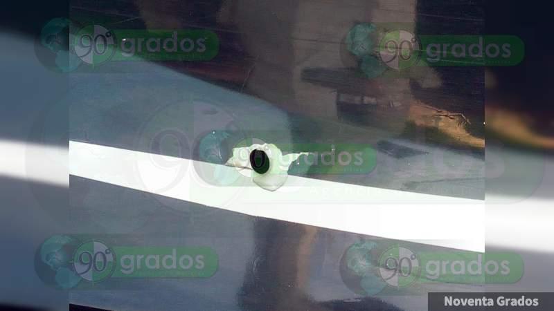 Balean a Policía Municipal tras frustrar robo en Celaya, Guanajuato