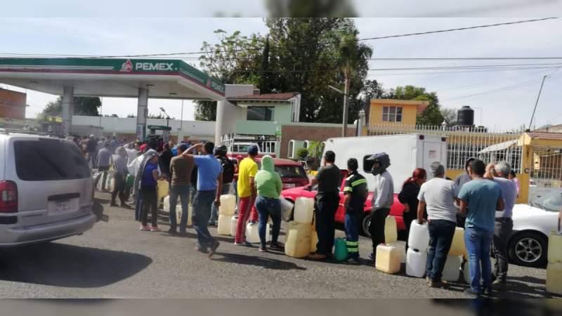 Desabasto de gasolina en Michoacán traerá pérdidas millonarias: Jesús Melgoza
