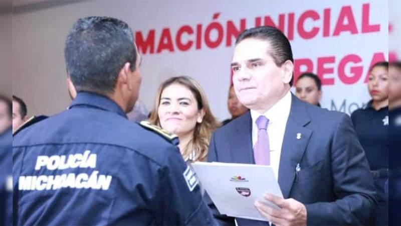 23 municipios sin avances en certificación de policías en Michoacán