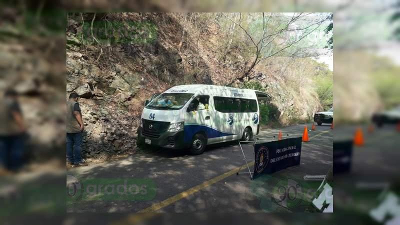 Asesinan a chofer del transporte público en Zihuatanejo