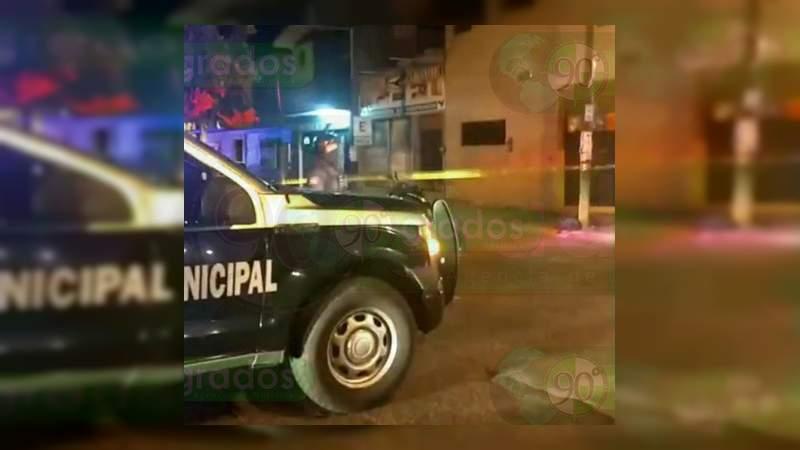Asesinan a un hombre en Salvatierra, Guanajuato