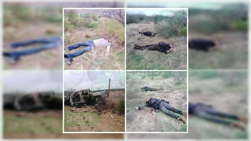 Son 21 los cuerpos calcinados tras enfrentamiento en Tamaulipas