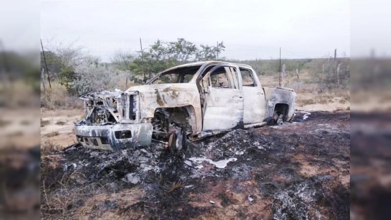 Confirman 21 cuerpos quemados localizados en frontera de Tamaulipas