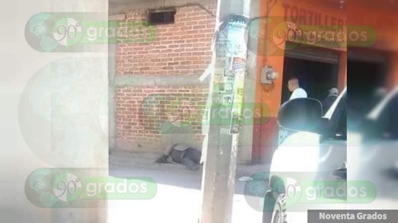 Balean y matan a dos en calles de Chilapa de Álvarez, en Guerrero