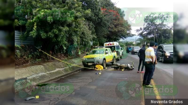 Muere en Hospital tras sufrir accidente en Salvatierra, Guanajuato