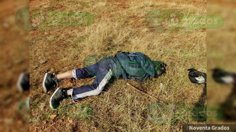 Localizan a un ejecutado en Tzintzuntzan