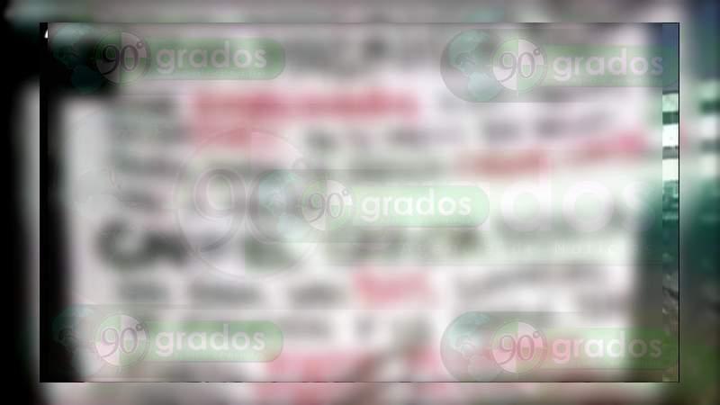Colocan narcomantas contra el Gobernador de Quintana Roo, funcionarios y una jueza