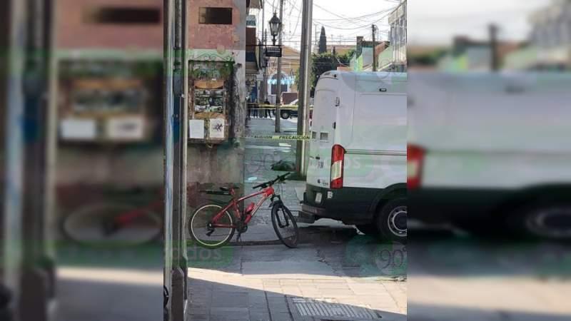 Asesinan a balazos a un hombre en Salvatierra, Guanajuato