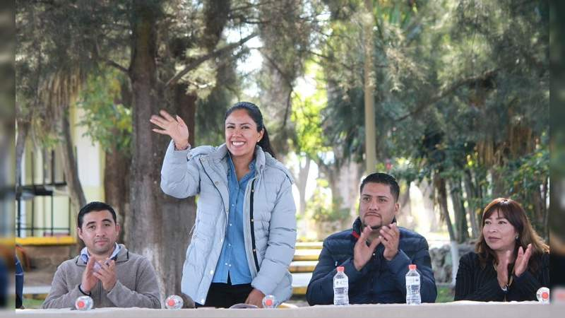 Arranca Ijumich con Rutas de la Juventud en Tangamandapio