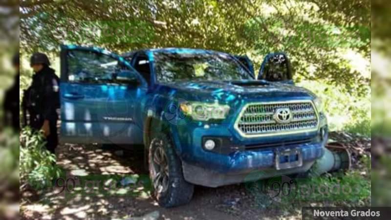 Tres muertos en coche abandonado en Acapulco, Guerrero