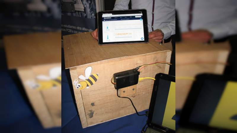 Estudiantes aportan herramientas tecnológicas a los apicultores mexicanos
