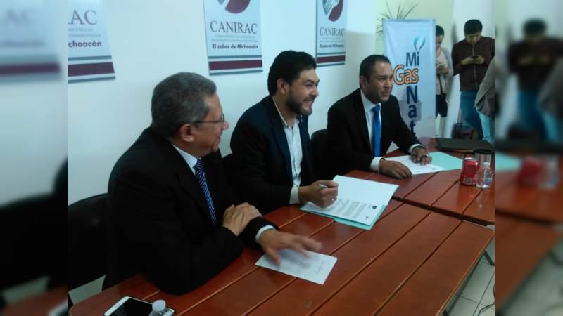 Convenio Canirac-GNN para lograr ahorros económicos y cuidar el medio ambiente