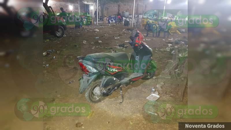 Identifican a muertos en pelea de gallos y choque en Buenavista, Michoacán
