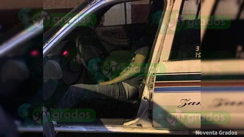 Asesinan a chofer de taxi en Acapulco, Guerrero