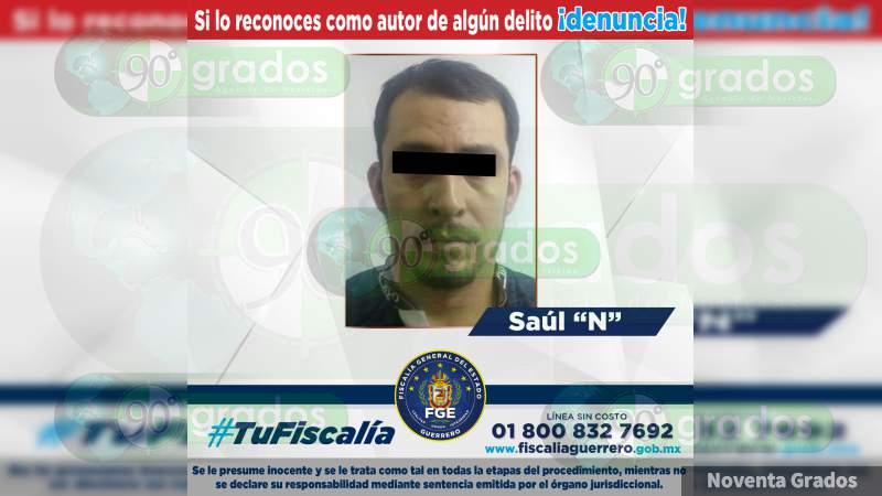 Detienen en Uruapan a presunto objetivo criminal buscado en Guerrero