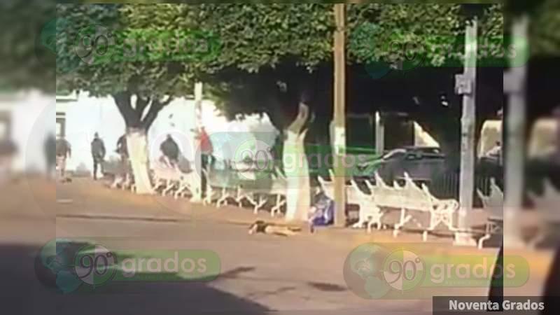 Asesinan a jovencita y localizan narcomanta en Jaral del Progreso, Guanajuato