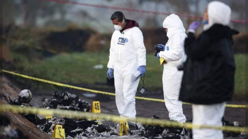 Último reporte indica 73 muertos y 74 heridos por explosión de ducto en Tlahuelilpan, Hidalgo