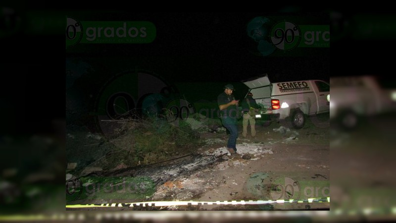 Localizan un cadáver baleado en Zamora