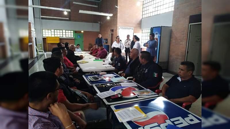 """Elementos de seguridad y custodia del """"Lic. David Franco Rodríguez"""", en proceso de capacitación académica"""