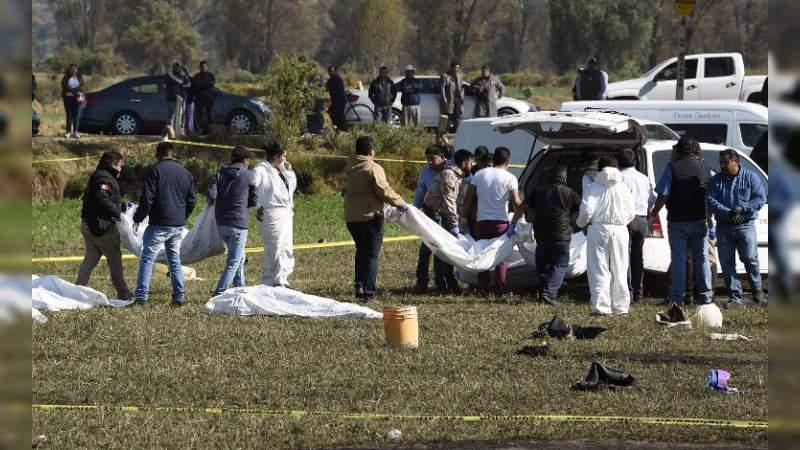 Aumenta a 91 la cifra de muertos por explosión de ducto en Tlahuelilpan, Hidalgo