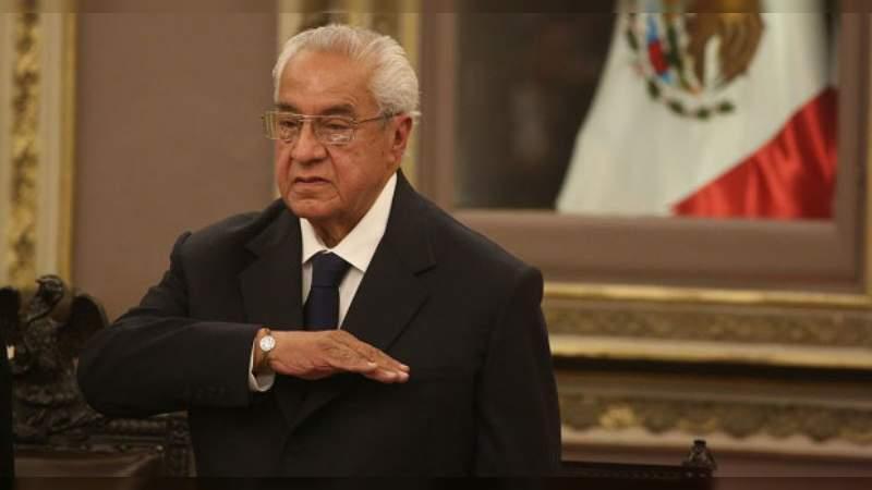 Guillermo Pacheco Pulido es nombrado Gobernador Interino de Puebla