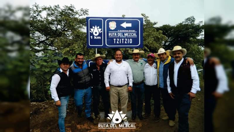 Solicitan productores mayor apoyo para la Ruta del Mezcal Michoacano