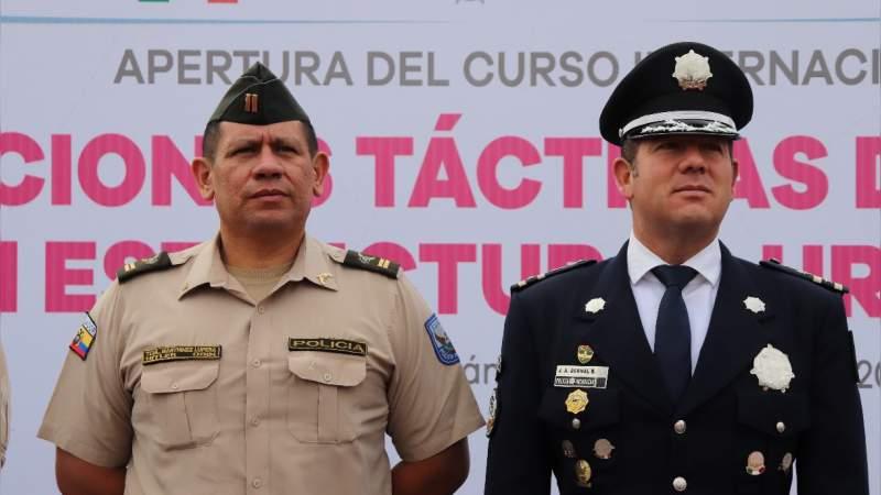 IEESSPP prepara convenio con Policia Nacional de Ecuador