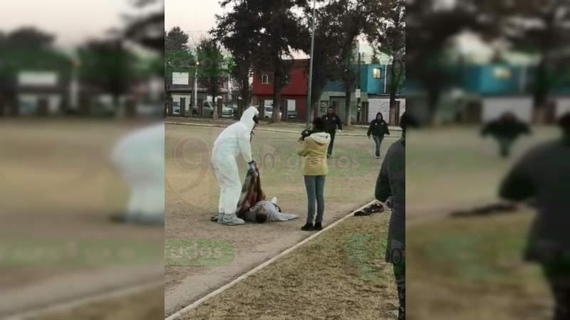 Fallece un hombre mientras se ejercitaba en Morelia