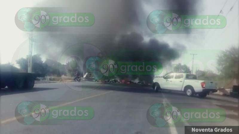 Narcobloqueos en Guanajuato por aseguramiento de combustible