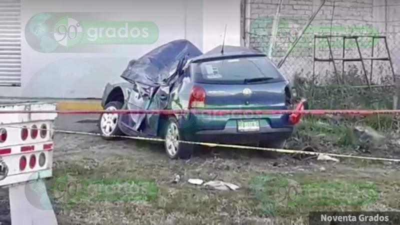 Muere persona en trágico accidente en Morelia, Michoacán